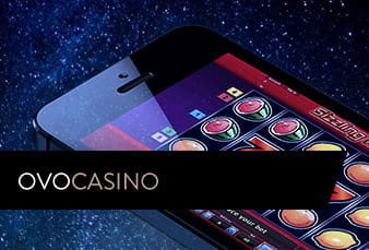 Mobile Version der Ovo Casinoseite