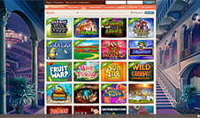 Die Homepage des LeoVegas Casinos