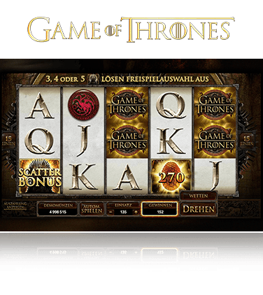 Microgaming Game of Thrones 15 Line Spiel