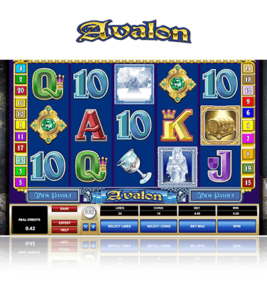 Microgaming Avalon Spiel