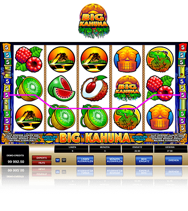 Microgaming Big Kahuna Spiel