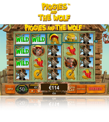 Piggies and the Wolf Spiel