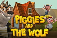 Piggies and the Wolf Slot von Playtech