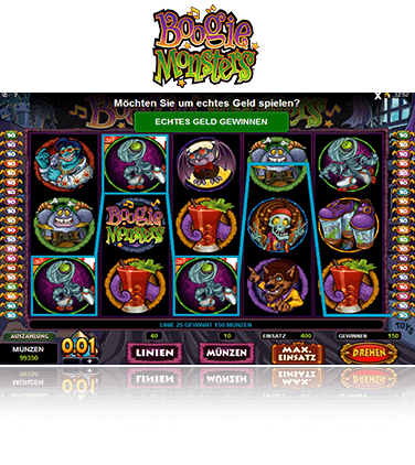Microgaming Boogie Monsters Spiel