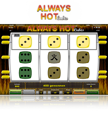 Always Hot Cubes Spiel