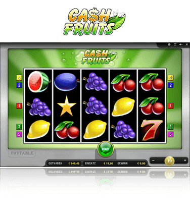 Merkur Cash Fruits Plus Spiel