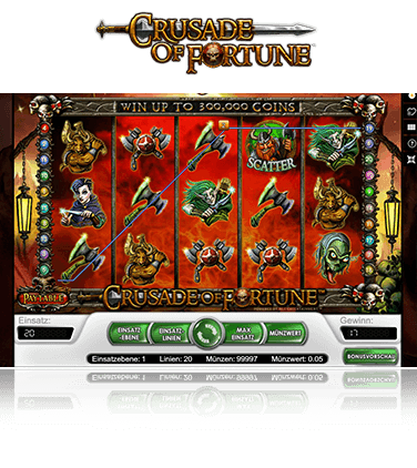 Crusade of Fortune Spiel