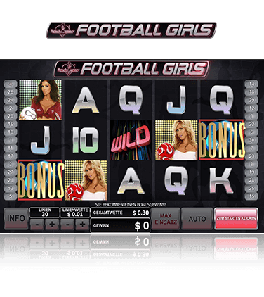 Benchwarmer Football Girls Spiel
