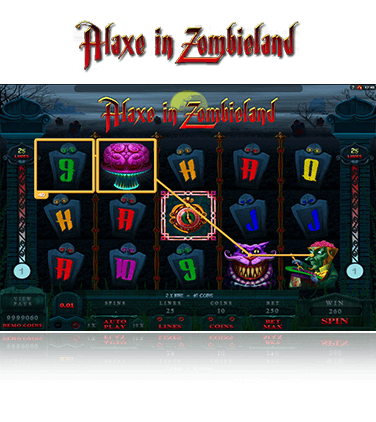 Microgaming Alaxe in Zombieland Spiel