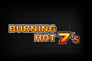 Burning Hot 7´s Slot von Novoline