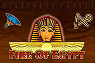Fire of Egypt Slot von Merkur