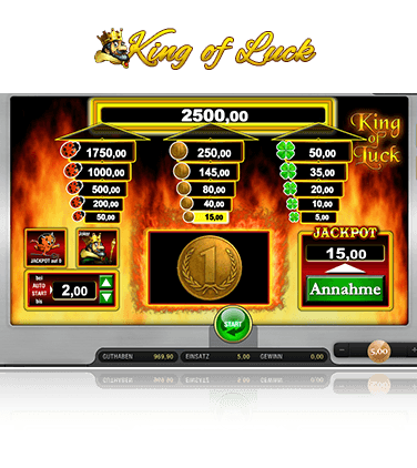 Merkur King of Luck Spiel