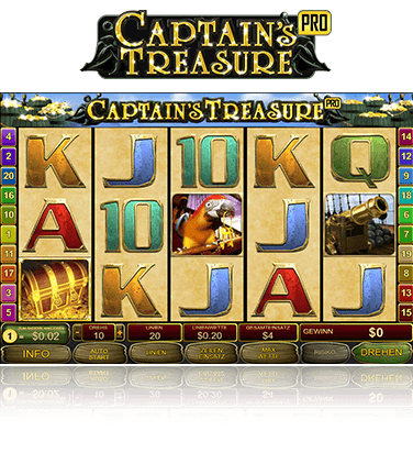 Captains Treasure Pro Spiel
