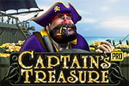 Captains Treasure Pro Slot von Playtech