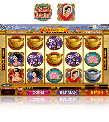 Microgaming Asian Beauty Spiel