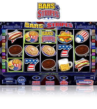 Microgaming Bars & Stripes Spiel