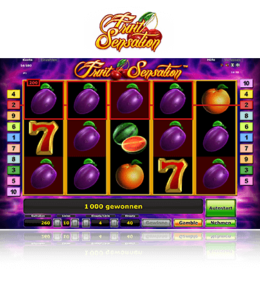 Fruit Sensation Spiel