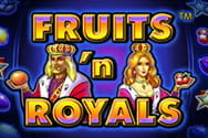Fruits'n Royals Slot von Novoline