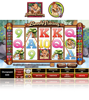 Microgaming Bearly Fishing Spiel