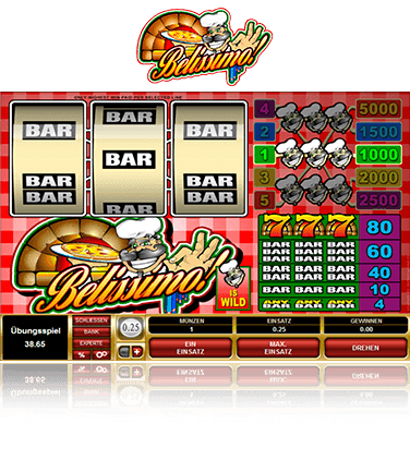 Microgaming Belissimo Spiel