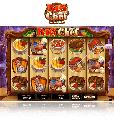 Microgaming Big Chef Spiel