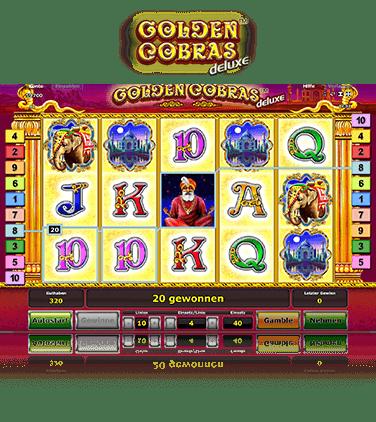 Golden Cobras Deluxe kostenlos spielen