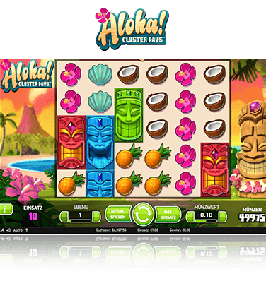 Aloha Cluster Pays Spiel