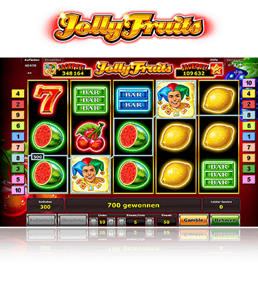 Jolly Fruits Spiel
