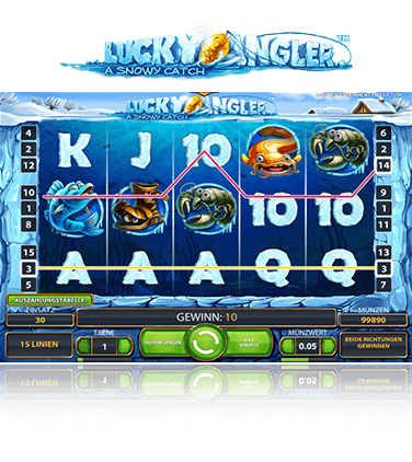 NetEnt Lucky Anglers Spiel