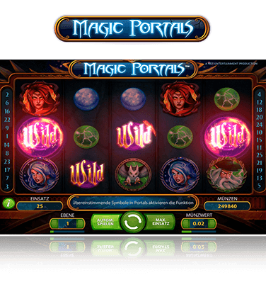 NetEnt Magic Portals Spiel