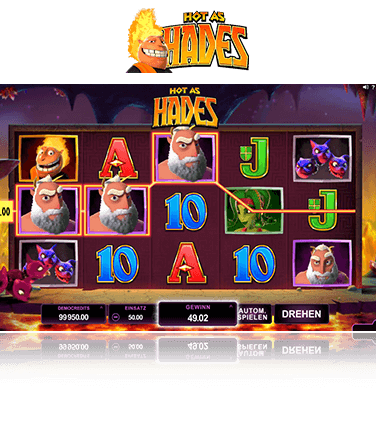Microgaming Hot as Hades Spiel