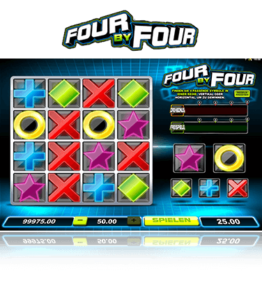 Microgaming Four by Four Spiel