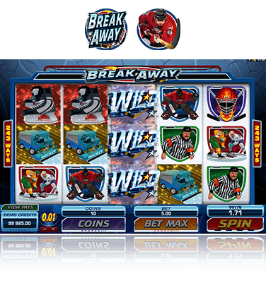 Microgaming Break Away Spiel