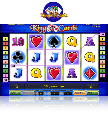 King of Cards Spiel