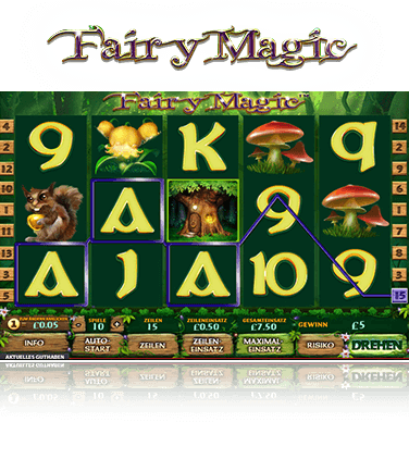 Fairy Magic Spiel