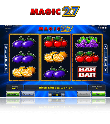 Magic 27 Spiel