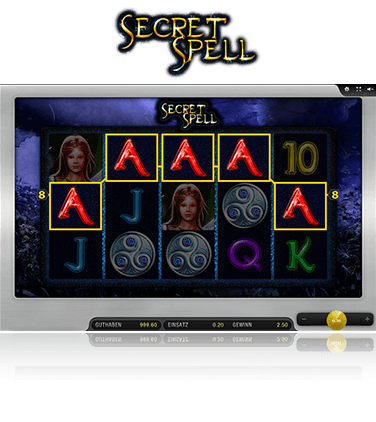Microgaming Secret Spell Spiel