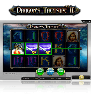 Merkur Dragons Treasure II Spiel
