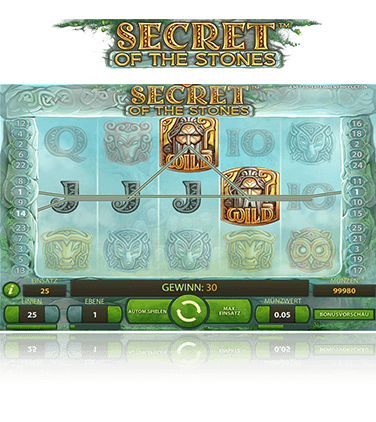 NetEnt Secret of the Stones Spiel