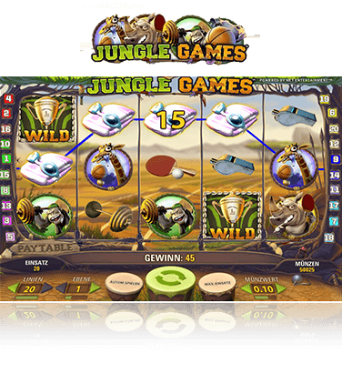NetEnt Jungle Games Spiel