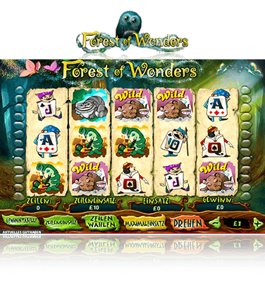 Forest of Wonders Spiel