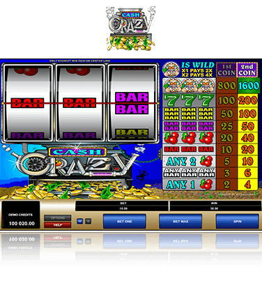 Microgaming Cash Crazy Spiel