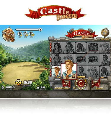 Microgaming Castle Builder Spiel