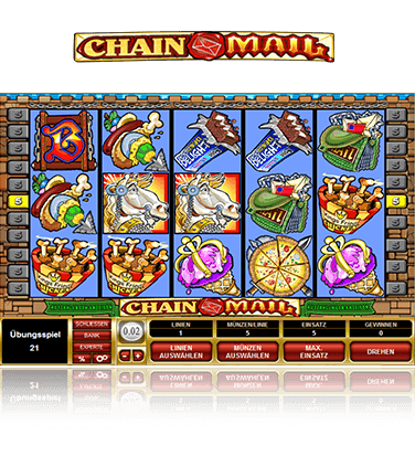 Microgaming Chain Mail old Spiel