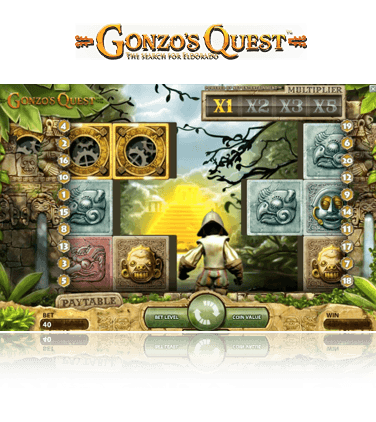 Hintergrundbild Embedded Game Gonzos Quest