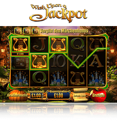 Merkur Wish Upon a Jackpot Spiel