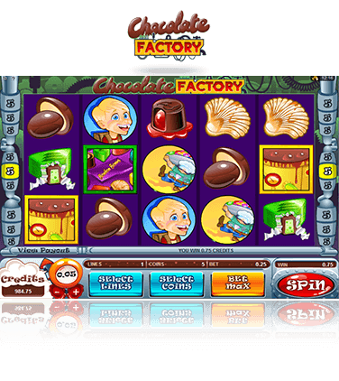 Microgaming Chocolate Factory Spiel