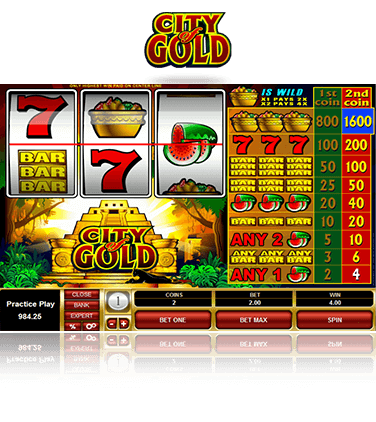 Microgaming City of Gold Spiel