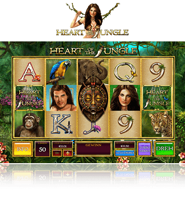 Heart of the Jungle Spiel