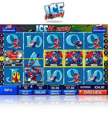 Playtech Ice Hockey Spiel